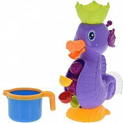 Vodný mlynček Drak fialová, 26 cm