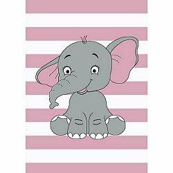 Vopi Kusový detský koberec Kiddo 1087 pink, 80 x 150 cm