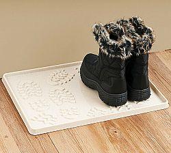 Vopi Odkvapkávač na topánky, béžová, 49 x 35 cm