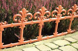 Záhradný plôtik Art 34 cm terakota