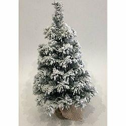 Zasnežený stromček v jute Tiga, 50 cm