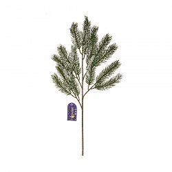 Zimné zasnežená smreková vetvička, v. 52 cm