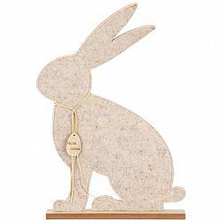 Dekoračný Zajac Filz Hase I