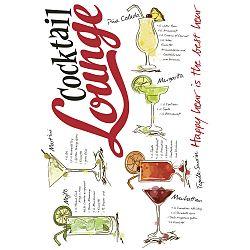 Ozdobné Nálepky Cocktail Lounge
