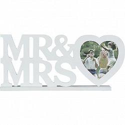 Rám Na Fotky Mr & Mrs